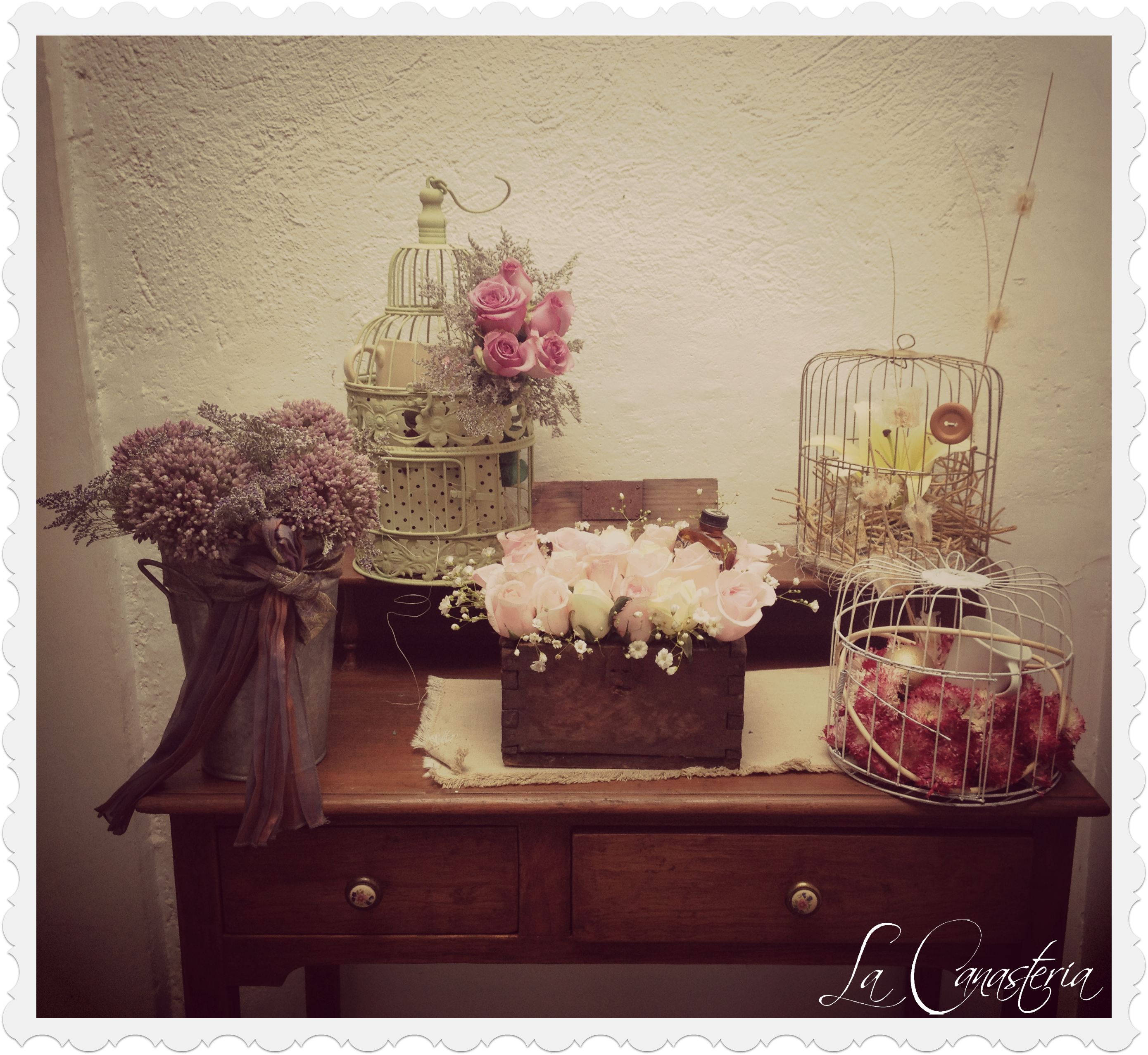 Vintage Flower Baskets Blog La Canasteria