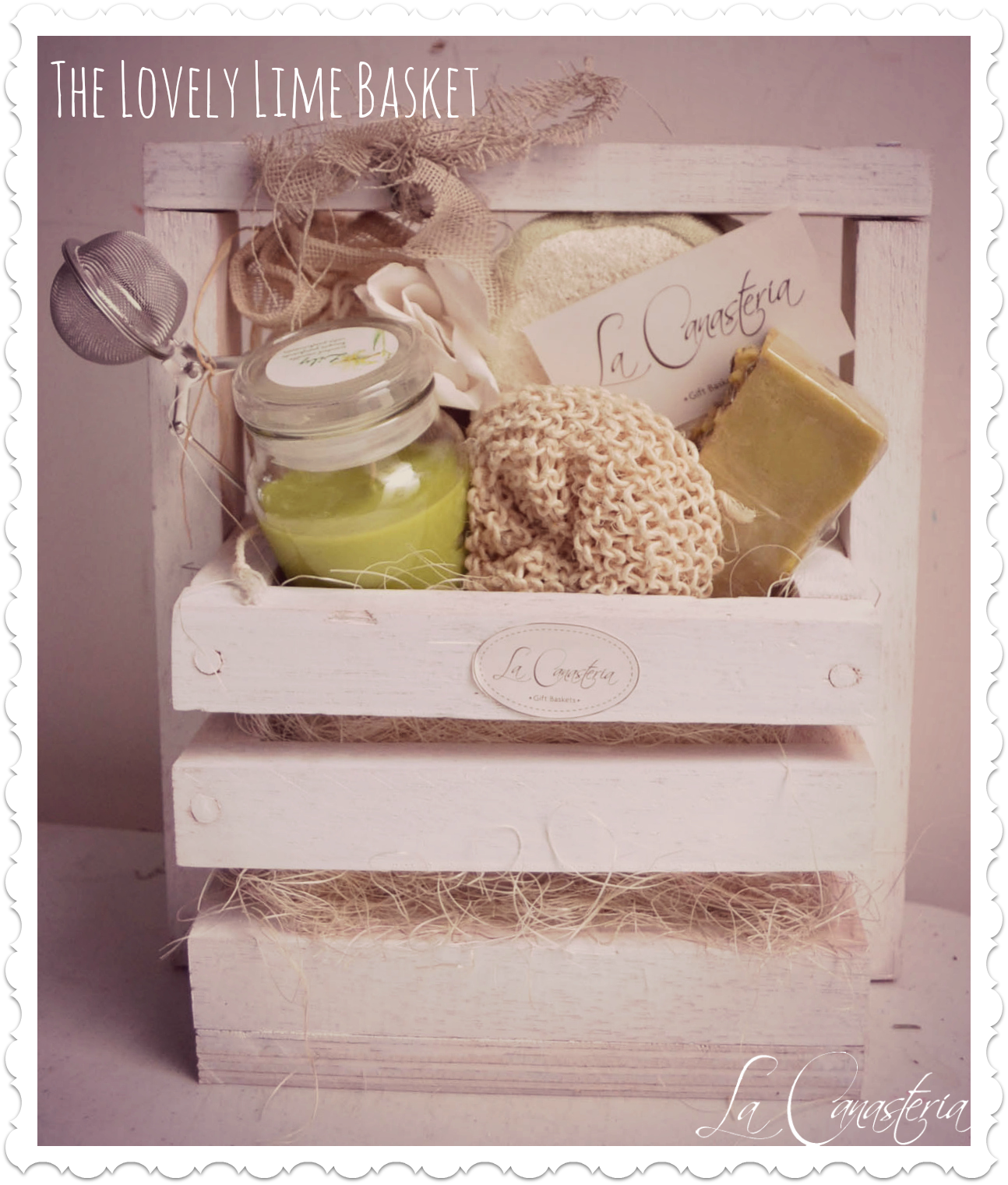 Thelovelylimebasket title logo - Articulos para spa ...