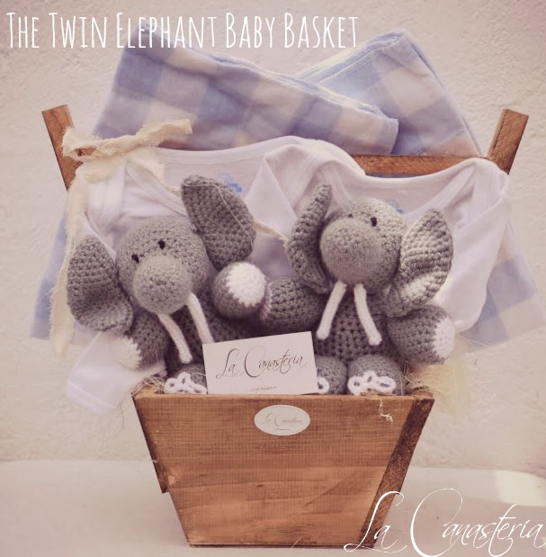 TheTwinElephantBabyBasket_forBoys