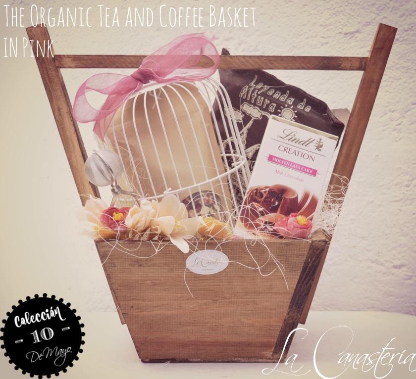 TheOrganicTea&CoffeeBasketinPInk